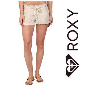 ROXY Stone Oceanside Linen Shorts